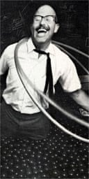 Richard Knerr, whose company Wham-O popularised the hula hoop