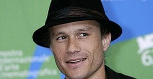 Heath Ledger in August 2007.