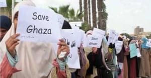Muslim Brotherhood demonstrate overr Gaza