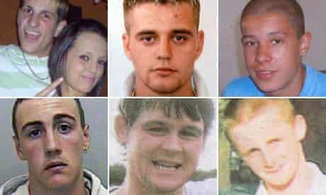 Natasha Randall, Liam Clarke, Zachary Barnes, Dale Crole, Gareth Morgan and David Dilling