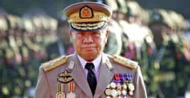Burma general Than Shwe