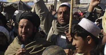 Tribesmen gather in North Waziristan.