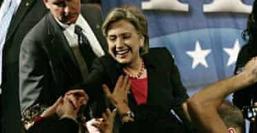 Hillary Clinton in New York City