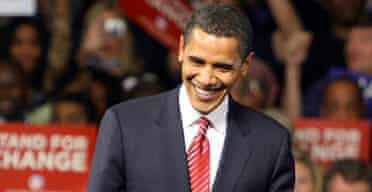 Barack Obama celebrates victory in South Carolina