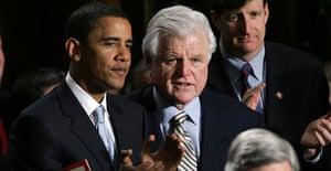 Ted Kennedy has endorsed Barack Obama