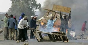 Violence in Rift Valley, Kenya