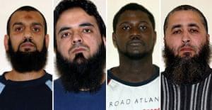 Parviz Khan, Mohammed Irfan, Basiru Gassama and Hamid Elasmar.
