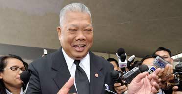 Thai prime minister, Samak Sundaravej