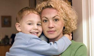 Sharon Coleman with her son, Oliver