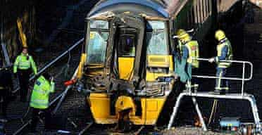 Leicestershire train crash