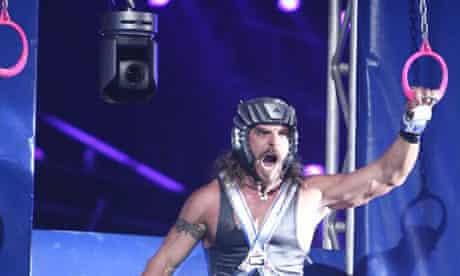 Don 'Hollywood' Yates aka 'Wolf' in American Gladiators
