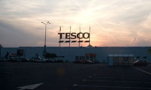 Tesco supermarket in Poland