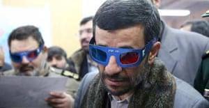 Iran's Ahmadinejad at aerospace centre