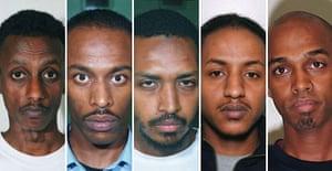 Siraj Yassin Abdullah Ali, Ismail Abdurahman, Wahbi Mohammed, Muhedin Ali and Abdul Waxid Sherif