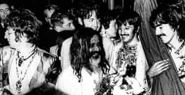 The Beatles join the Maharishi Mahesh Yogi for a weekend of meditation in Wales in 1967