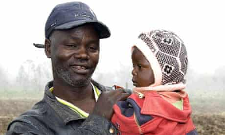 Jeremiah Mungai with his son Brian