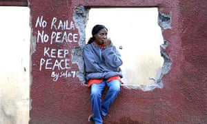 Kenya violence elections opposition odinga Kibera nairobi