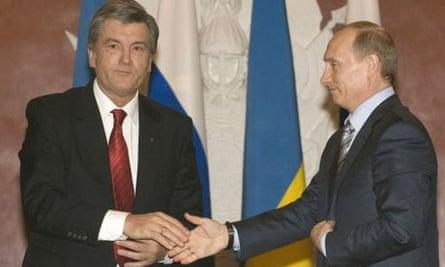 Yushchenko Putin gas Kremlin Ukraine Russia