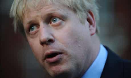 Boris Johnson MP
