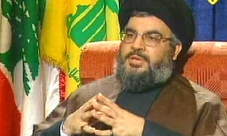 Hizbullah leader Sheikh Hassan Nasrallah al-Manar TV