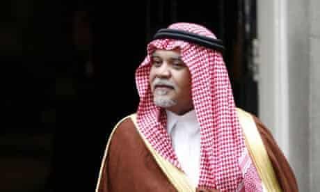 Prince Bandar bin sultan bin Abdul Aziz al-Saud