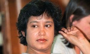 Exiled Bangladeshi writer Taslima Nasrin