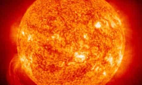 An image of the sun