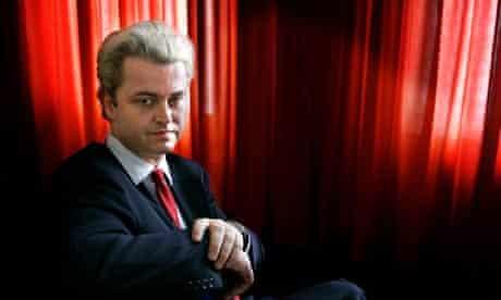 Dutch politician Geert Wilders
