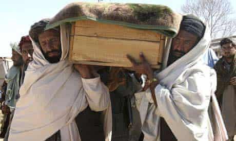 Kandahar suicide bombing funeral afghanistan