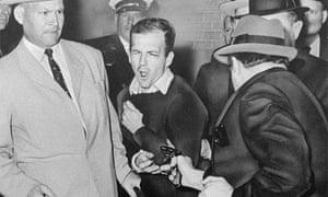 Lee Harvey Oswald is shot by Jack Ruby JFK