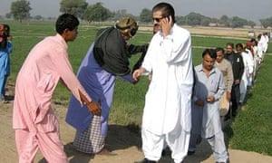 campaign trail Pakistan election vote