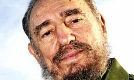 Fidel Castro is shown at the Jose Marti airport in 2004