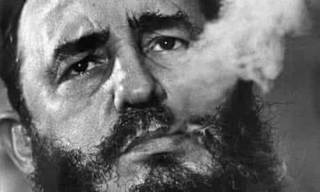 Castro at a press conference