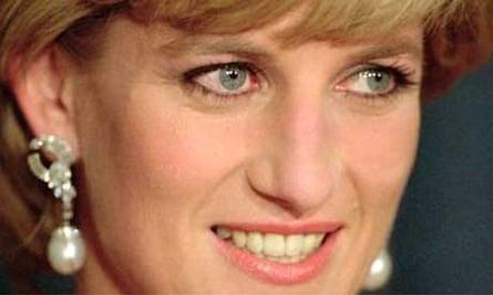 Diana, Princess of Wales. Photograph: Mark Lennihan/AP