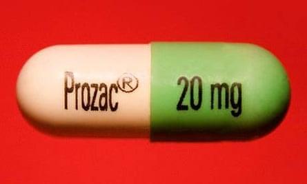 A single Prozac capsule