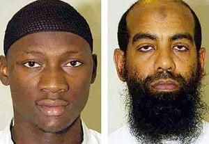 Kibley da Costa, 25, (left) and Mohammed al-Figari, 45.