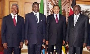 Crisis meeting in Kenya