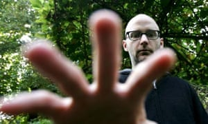 Singer and electronic musician Moby