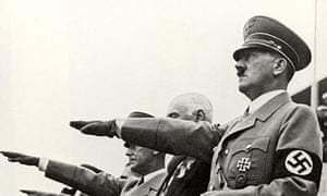 Adolf Hitler at the Berlin Olympic Games.