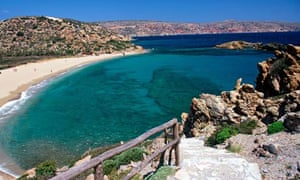 The Sindero peninsula of north-eastern Crete