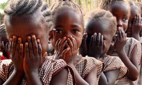 Girls in Sierra Leone
