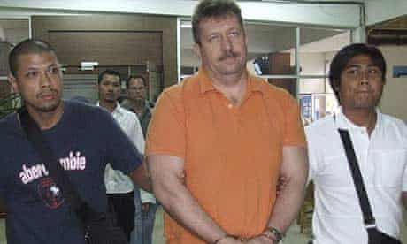 Thai police take Viktor Bout for questioning