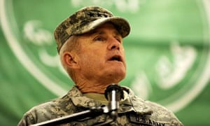 General Dan McNeill. Photograph: Shah Marai/AFP/Getty Images