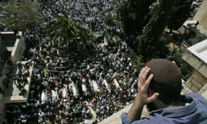 Funeral of Jerusalem shooting victims
