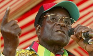 Robert Mugabe, addressing ruling party supporters at the Mahusekwa Stadium south-east of Harare, Zimbabwe, on March 5 2008