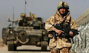 British troops in Iraq