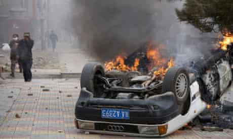 Unrest in Lhasa