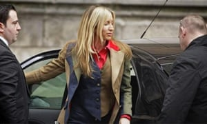 Heather Mills as she arrived at the high court