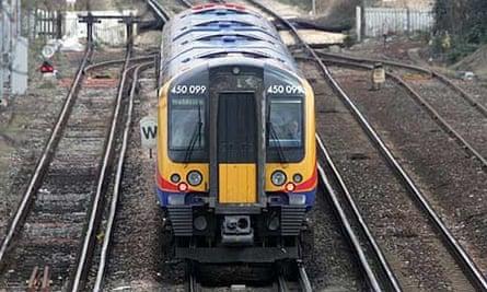 A South West Trains service