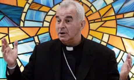 Cardinal Keith O'Brien, the leader of Scotland's Catholic church